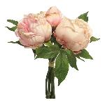 Paeonia duke bundle ArtificialNature, pink, 29 cm