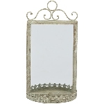 Spiegel ArtFerro, Metall, 21x11x37 cm