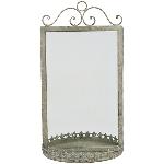 Spiegel ArtFerro, Metall, 25,5x14x49 cm