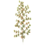 Snowy Japanese pine w/soft pink berry, ArtificialNature, 48 cm