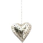 HerzHänger Iride, Metall, 35x35x9 cm