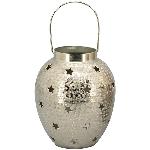 SternWindLicht GROS, Aluminium 15x15x18 cm