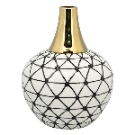 Vase XOXO, Stoneware, 13,5x13,5x18 cm