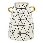 Vase XOXO, Stoneware, 14x14x18 cm