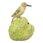 Kolibris TroupeR, grün, Polyresin, 14x11x20 cm