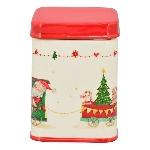 WeihnachtsDose Chrissie, Dolomite, 9x9x12 cm