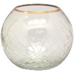 WindLicht Verrerie, Glas, 15x15x12,5 cm
