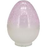 Ei Vitreous, pink, Glas, 12x12x18 cm