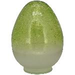 Ei VERT, grün, Glas, 9x9x12 cm