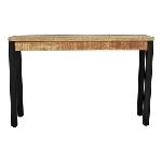 Tisch Puri, Metall/Holz, 120x40x76 cm,