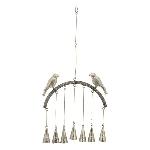 VogelWindspiel Iride, Metall, 24x3x44 cm