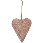 HerzHänger GlisseR, pink, Metall, 18x14x3 cm