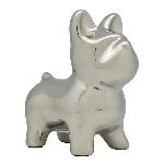 SparDose Hund ArgenT, silber, Keramik, 17,5x11,5x19,5 cm