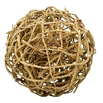 Ball Willow, natur, Rattan, 30x30x30 cm
