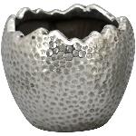 PflanzEi ArgenT, silber, Stoneware, 10x10x8,5 cm