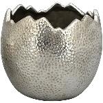 PflanzEi ArgenT, silber, Stoneware, 19,5x19,5x17 cm