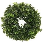 Boxwood wreath Orion green,30cm