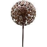 AlliumStick ArtFerro, rusty, Metall, 29x29x140 cm