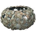 Windlicht Doré, Metall/Glas, 17x17x9,5 cm