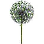 AlliumStick ArtFerro, purple, Metall, 29x29x140 cm