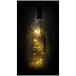 10er LED Flasche LichterKette Lumière, 90 cm,