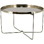 Tisch Sobre, Metall, 71x71x45,5 cm