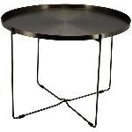 Tisch Sobre, Metall, 78,5x78,5x55 cm
