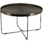 Tisch Sobre, Aluminium, 77x77x45 cm