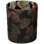WindLicht Vitreous, schwarz, Glas, 8,8x8,8x10 cm