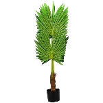 Fan palm tree, ArtificialNature, 90 cm