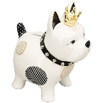 SparDose Hund XOXO, Keramik, 20x13x23 cm