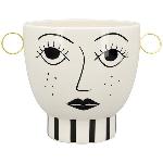 Schale XOXO, Keramik, 29x20,5x20,5 cm