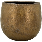 Topf Bronze, Keramik, 19x19x17 cm