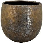 Topf Bronze, Keramik, 30x30x27,5 cm