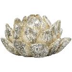 Blume Valo, Zement, 14x14x8,5 cm