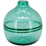 Vase PENO, türkis, Glas, 18x18x20 cm