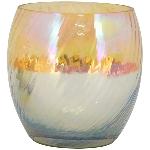 WindLicht Coloré, Glas, 10x9x9 cm