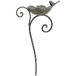 VogelFutterPlatz ArtFerro, Metall, 26x13,3x99 cm