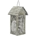 HausWindlicht ClairBlanc, grau, Metall, 10x11x20 cm