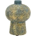 Vase Bronze, Keramik, 15,5x15,5x20 cm