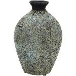 Vase Bronze, Keramik, 15,5x15,5x23 cm