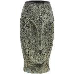 Vase Bronze, Keramik, 14x12,5x26 cm