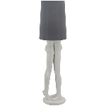 Lampe Clarté, Polyresin, 41x41x156 cm