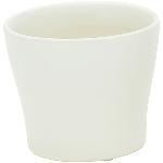 Topf Gent, creme, Keramik, 11x11x9,5 cm