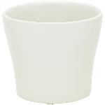Topf Gent, creme, Keramik, 13x13x11 cm