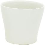 Topf Gent, creme, Keramik, 16x16x14 cm