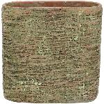 PflanzJardiniere moola, Zement, 26x11x25 cm
