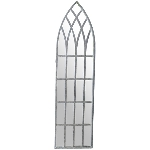 Spiegel ArtFerro, Metall/Glas, 28x2,5x108 cm