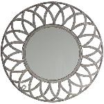 Spiegel ArtFerro, Metall/Glas, 43,5x1,5x43,5 cm