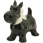 Hund Gris, schwarz, Dolomite, 6,4x3,7x7,5 cm